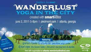 Wanderlust Yoga in the City Atlanta