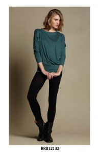 Heather Fashion Slouchy Top