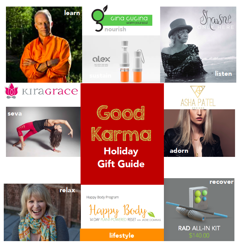 Good Karma Holiday Gift Guide, by Isabelle Casey