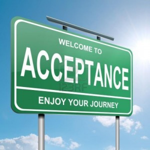 welcome to acceptance